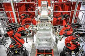 Model S Factory, Fremont, California Source: LA Times